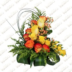 Brighten Up flower arrangement