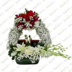 The Garden Channel flower arrangement