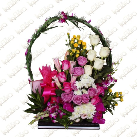 Blissful Petals flower arrangement