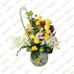 Sunbeams flower arrangement