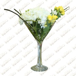Serene White flower arrangement
