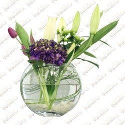 Purple sensation Flower arrangement