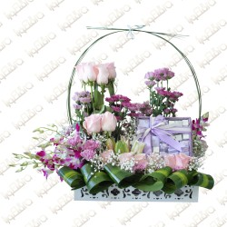Lavander grace arrangement