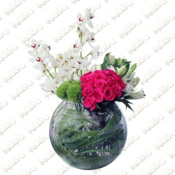 Familial Love flower arrangement