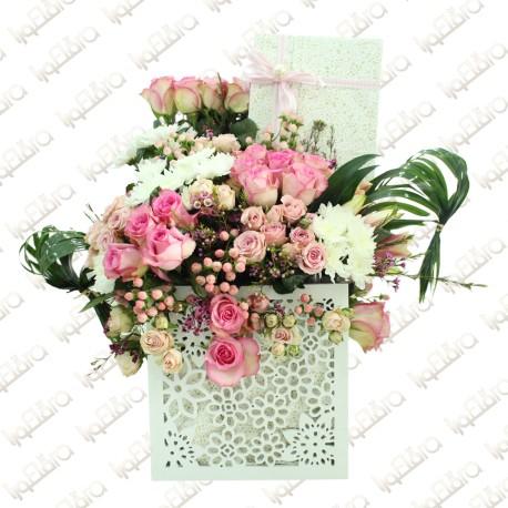 Made for mum flower arrangement