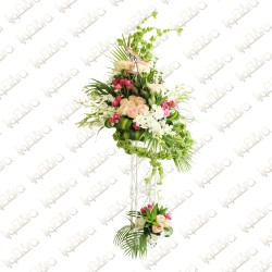 Love tower Flower Arrangement