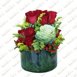 Circle of Love flower arrangement
