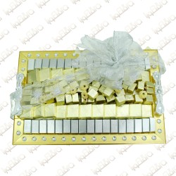Gold Tray Chocolate Arrangement