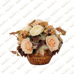 Peach Bloom Artificial flower Arrangement