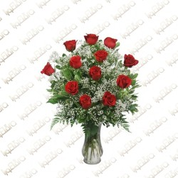Happy Roses Flower Arrangement