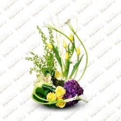 Tropical summer Flower Arrangement