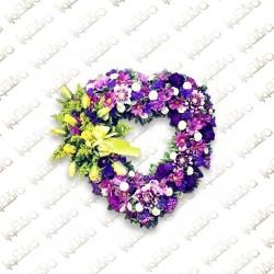 Purple Heart Flower arrangement