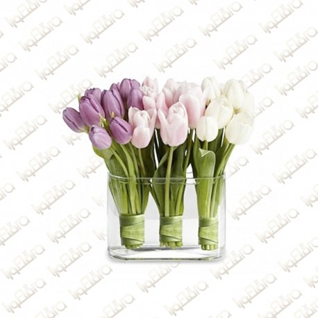 VIP TULIPS Flower Arrangement