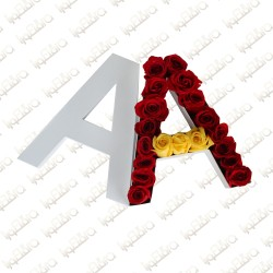 Letter A Flower Arrangement
