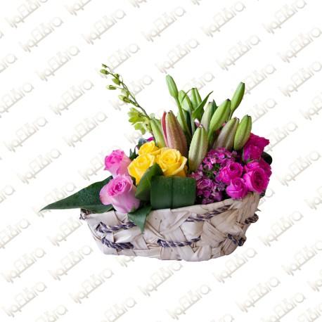 Antique Flowers Arrangement