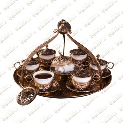 Ancient Tray with cups