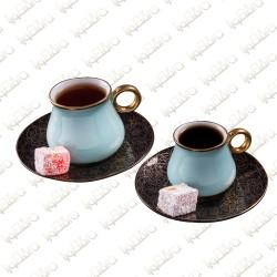 Elegant Blue cups