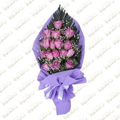 Lavander rose  bouquet