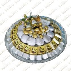 Eid Plate Chocalate Arrangement