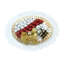 Oval Deluxe Chocolate Arrangement